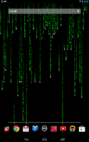 Screenshot of Matrix Effect Live Wallpaper