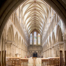 Wells Cathedral by Jane Taubman - Buildings & Architecture Places of Worship ( wells, england, somerset, place )