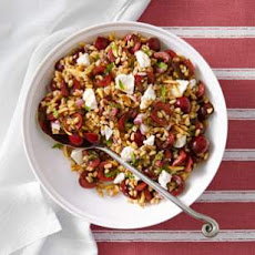 Cherry-Almond Farro Salad