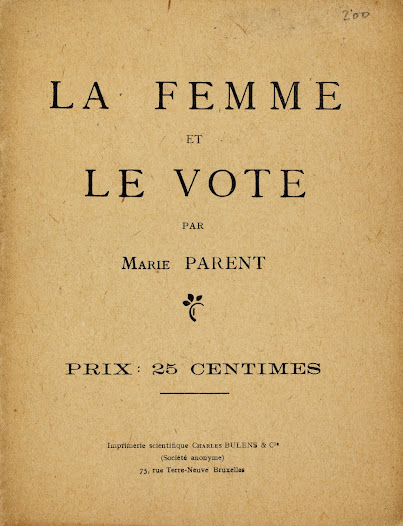 Women and the Vote by Marie Parent