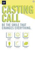 Screenshot of Gap Casting Call