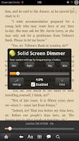 Screenshot of GSam Screen Dimmer Pro