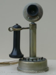 Candlestick Phones - Loeffler 8 Button Intercom Candlestick Telephone 1