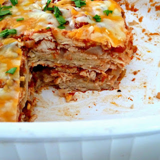 Sour Cream Enchilada Stack Recipes