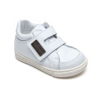 Dolce & Gabbana Toddler Leather Trainer SHOE