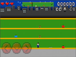Screenshot of CRAZY POLICE LITE FREE