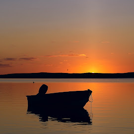 Sunrise! by Steve Morrison - Landscapes Sunsets & Sunrises