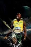 Screenshot of Athletic Superman Usain Bolt