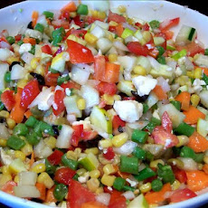 Dixie's Chopped Vegetable Salad