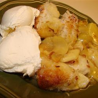 Coconut-Apple Cobbler