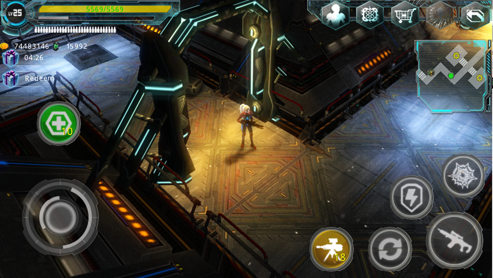 Alien Zone Plus Screenshot 10