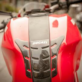 Ducati I saw on the street by Faisal Abuhaimed - Transportation Motorcycles