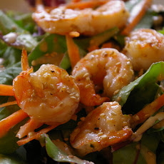Hot Gingered-Shrimp Salad