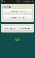Screenshot of Learn Hiragana & Katakana Free