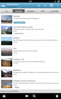 Screenshot of Kyrgyzstan Guide by Triposo