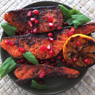 Pomegranate Molasses Fish Recipes