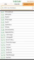 Screenshot of IndiCode STD, PIN Code,RTO