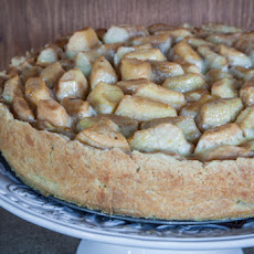 Open Faced Brown Butter Spiced Apple Pie