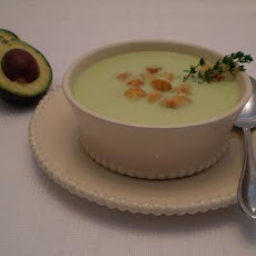Crema De Aguacate -- Cream of Avocado Soup (South America)