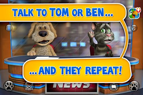 talking-tom-ben-news-free for android screenshot