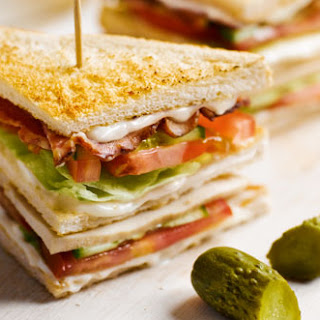 Chicken Bacon Club Sandwich Recipes