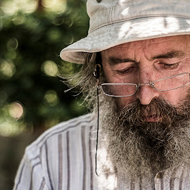 by Mitat Özkan - People Portraits of Men
