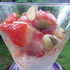 Strawberry Salsa Sundaes
