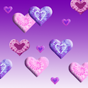 Tie-Dye Valentines Live icon