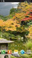 Screenshot of Autumn Zen Garden wallpaper