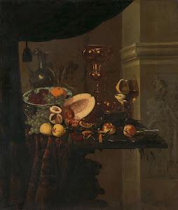 RIJKS: Christiaen van Dielaert: painting 1666