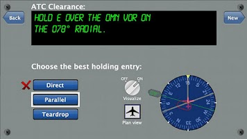 Screenshot of Holding Pattern Trainer