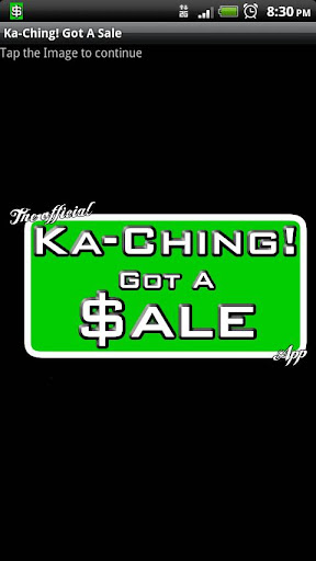 Ka-Ching Got A Sale