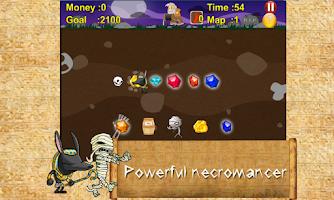 Screenshot of Mummy gold miner