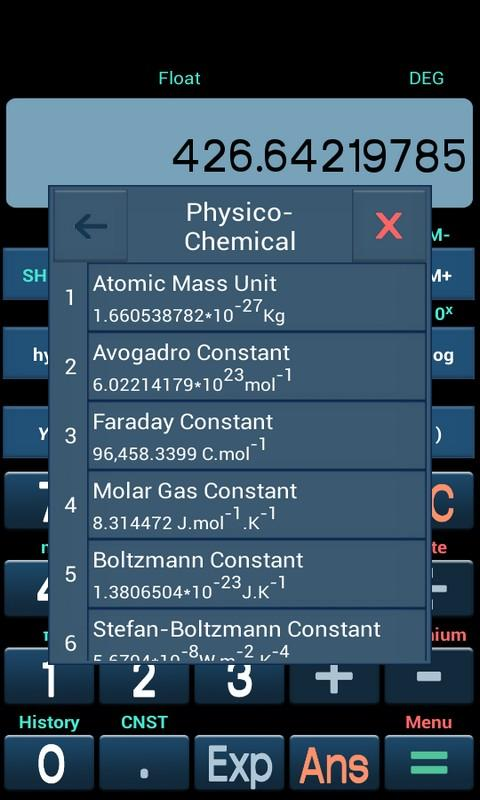 New Scientific Calculator Screenshot 0