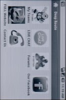 Screenshot of Deep Route Football Simulation