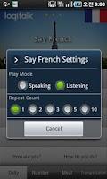 Screenshot of Say French Free(Learn&Speak)