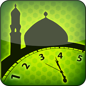 Prayer Times & Qibla Icon