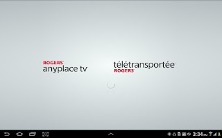 Screenshot of Rogers Anyplace TV Tablet