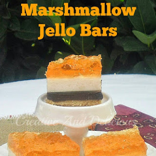 Chocolate Marshmallow Jello Bars
