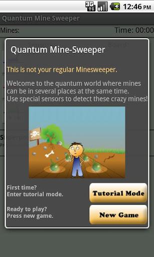 Quantum Minesweeper