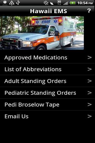 Hawaii EMS Standing Orders