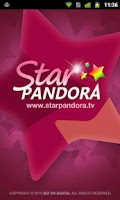 Screenshot of StarPandora