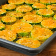 Val's Kid-Friendly Broiled Zucchini Rounds with Cheese