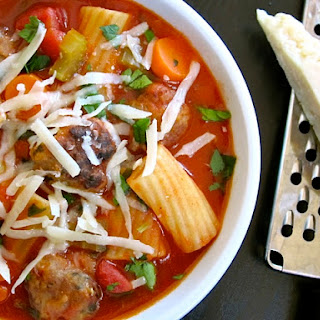 Hearty Meatball Soup