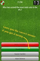 Screenshot of Champion Cricket Quiz