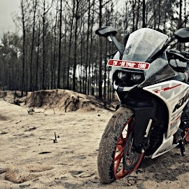 rc 390 by Venkat Aravind - Transportation Motorcycles ( #ktm #drive #beach #click #rain )