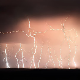 Lightning by Andrea Evans - Landscapes Weather