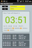 Screenshot of Next Mumbai Local