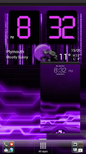 Sense 3.6 Skin -Digital Purple