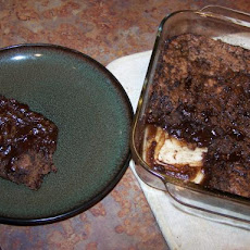 One Pan Chocolate Pudding Cake